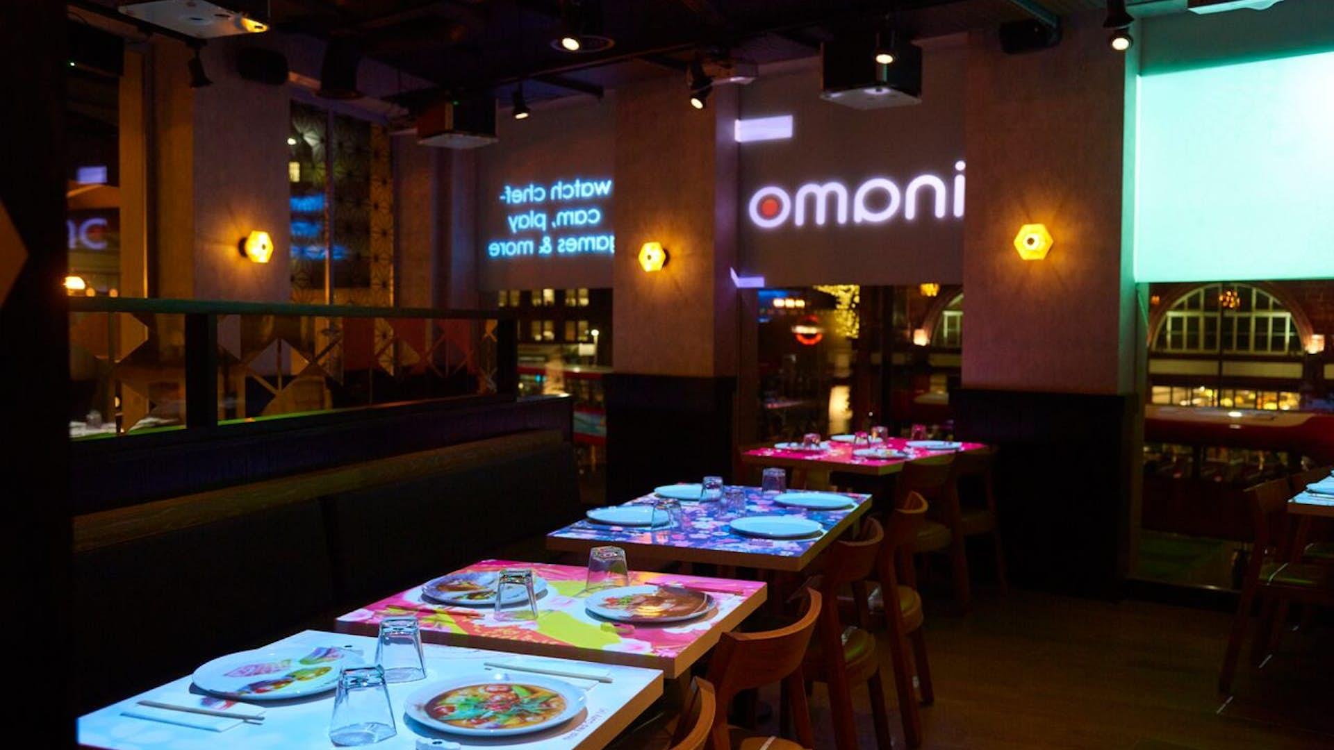 Whole Restaurant Events Inamo Camden