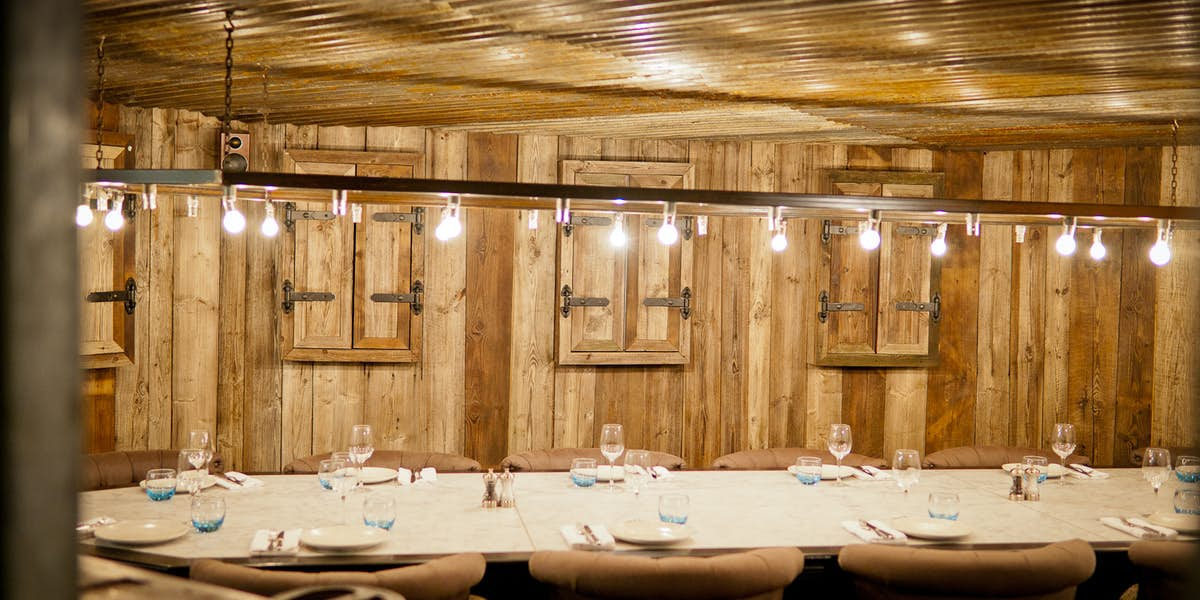 The Riding House Cafe Private Dining