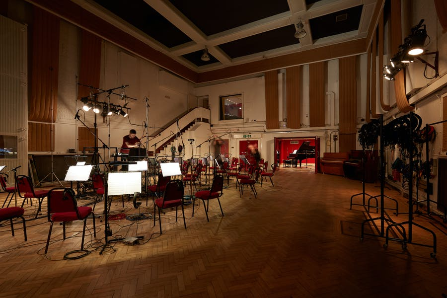 Photo of Studio Two at Abbey Road Studios