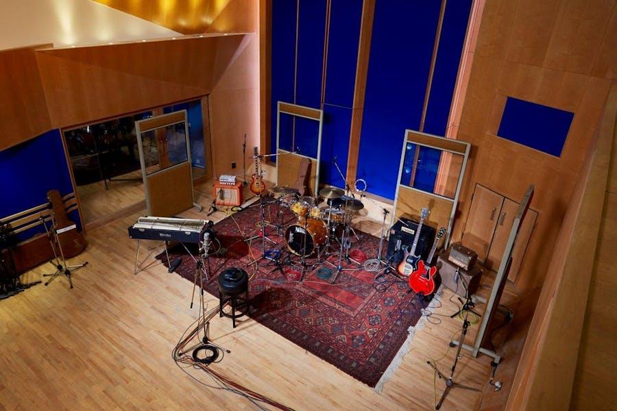 Photo of Studio Three at Abbey Road Studios