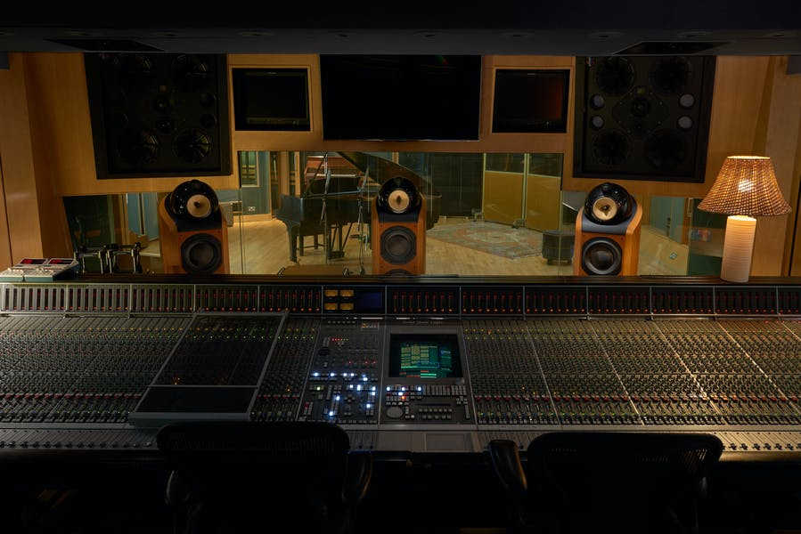 Photo of Studio Three at Abbey Road Studios