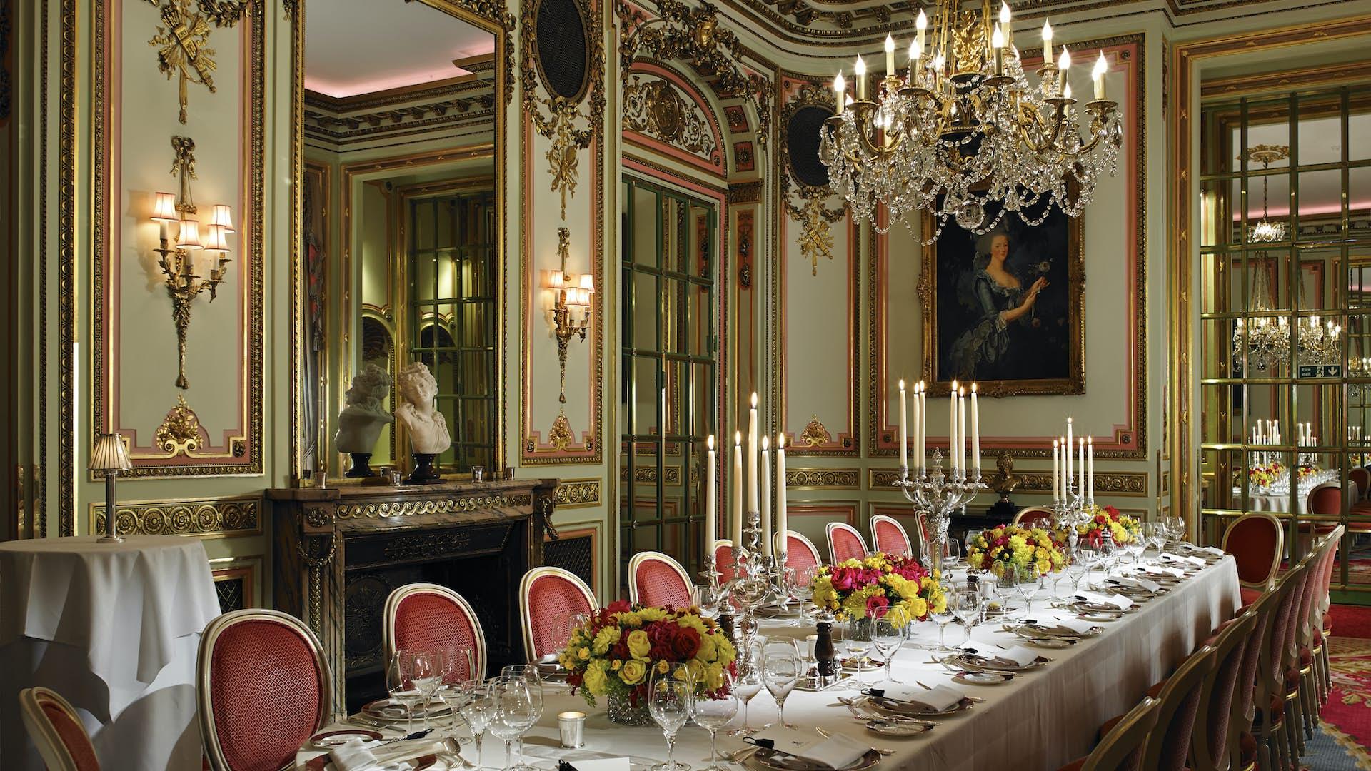 The Marie Antoinette Suite Events The Ritz London