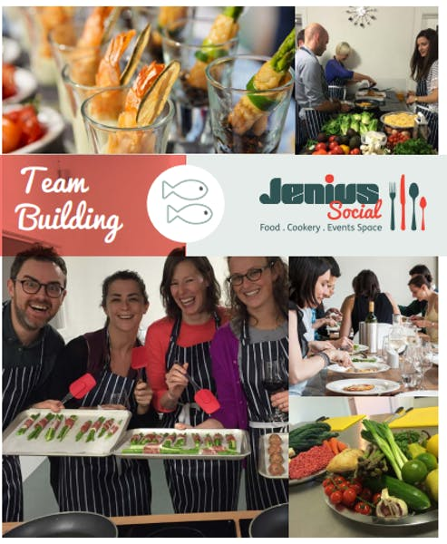 Photo of Team Building Cookery Activities at Jenius Social