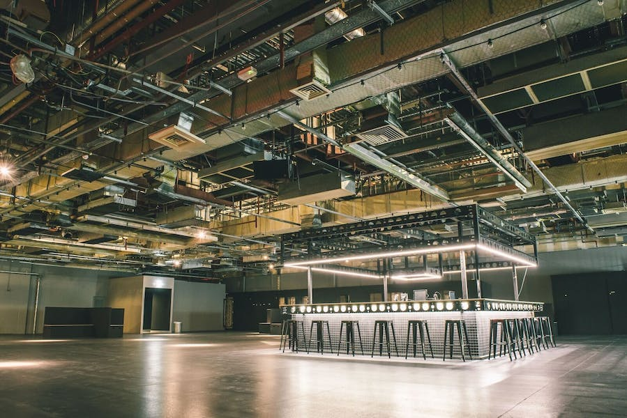 Photo of Control Room at Printworks London (Created by Venue Lab)