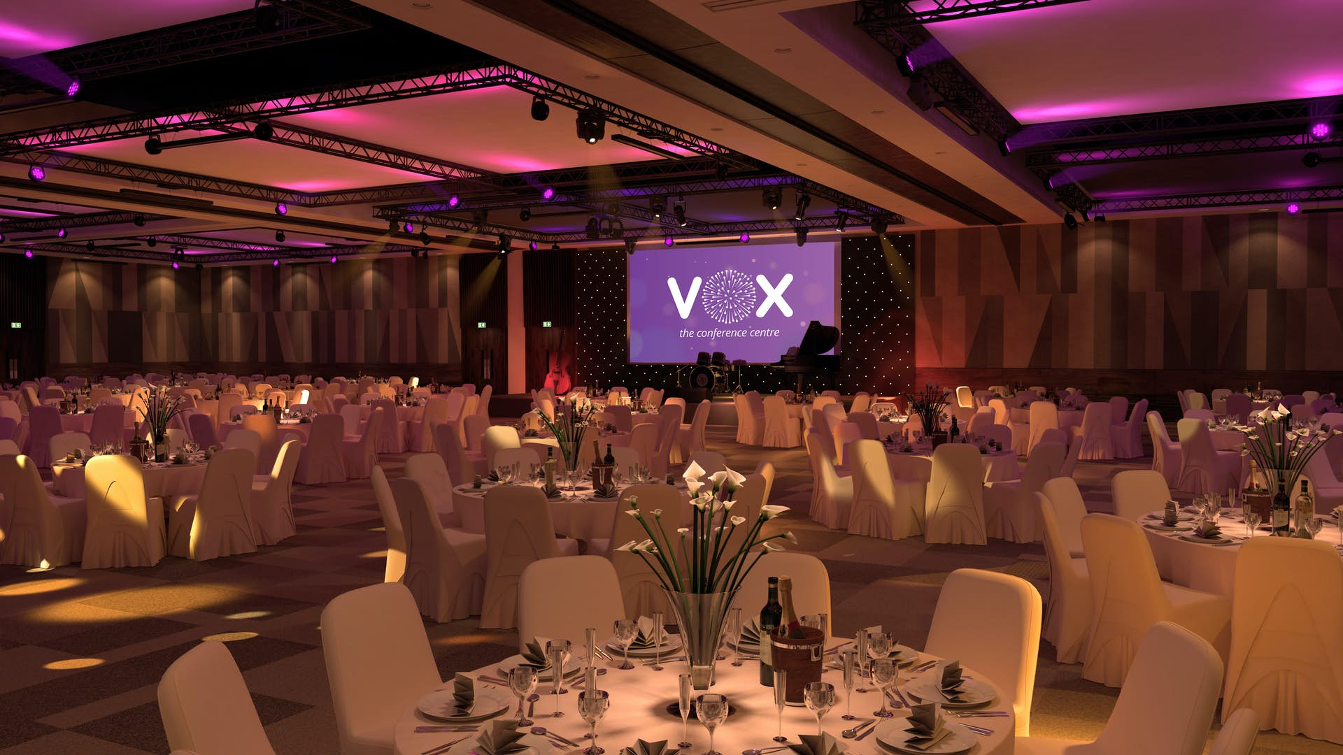 Vox Weddings The Vox Conference Centre - Vox conference table