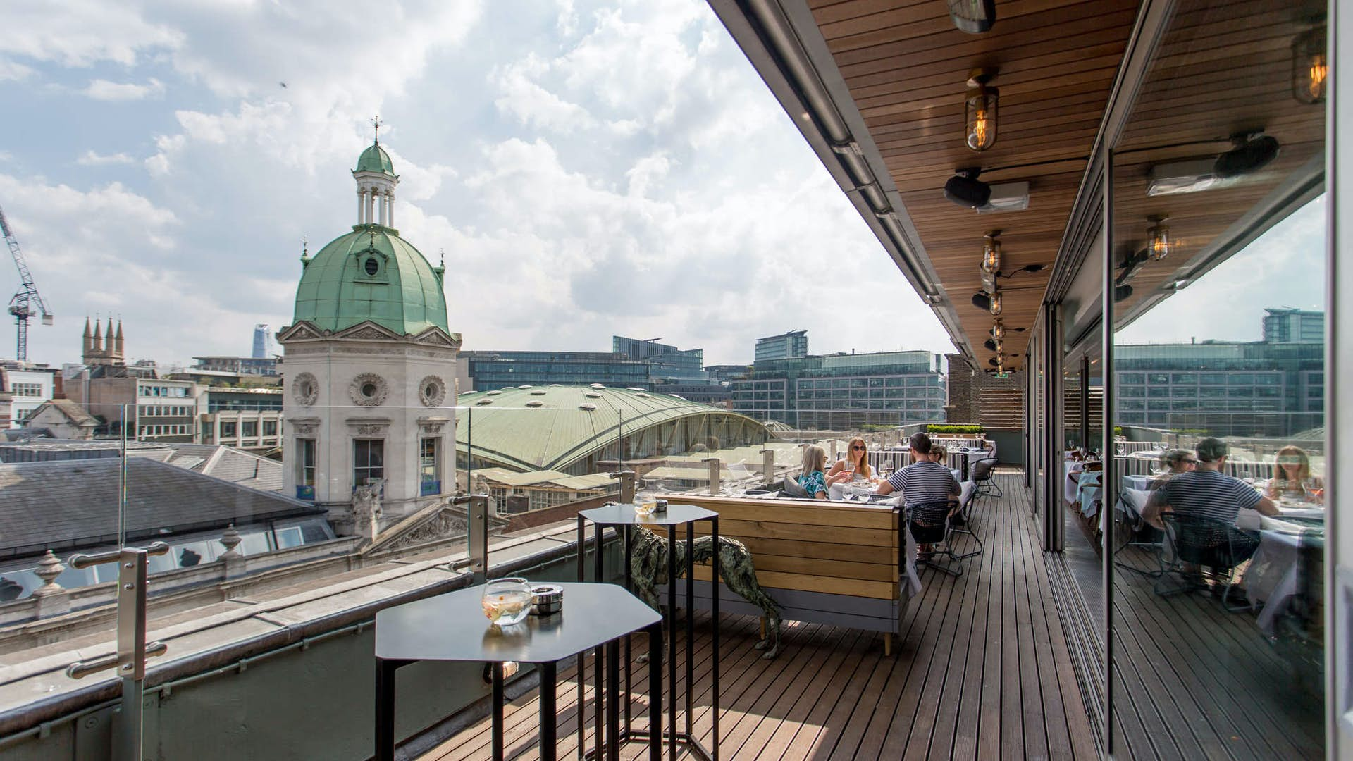 Smith's of Smithfield roof terrace