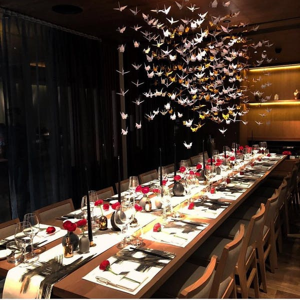 Photo of Semi-Private Dining Room at Nobu Hotel London Shoreditch