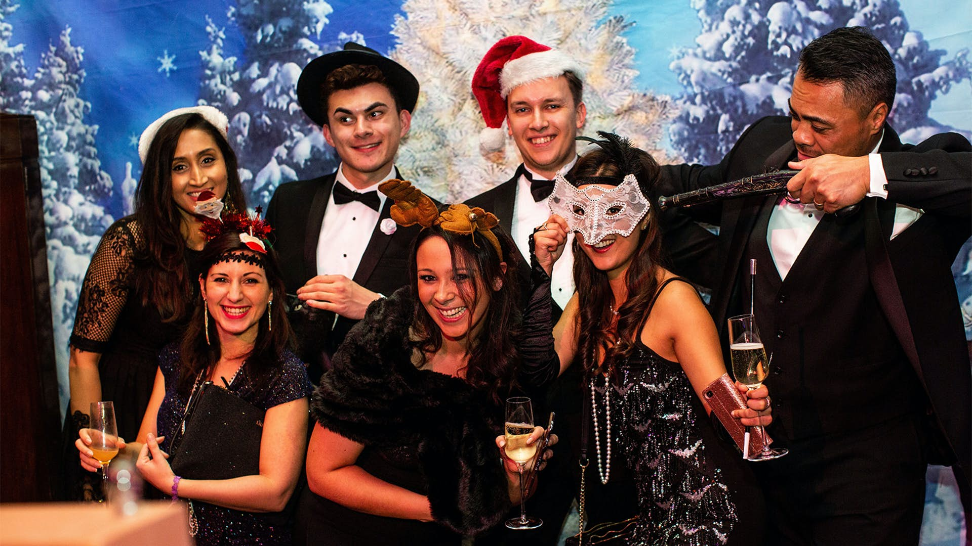 Christmas Parties | Events | The Gatsby Club at Freemasons' Hall
