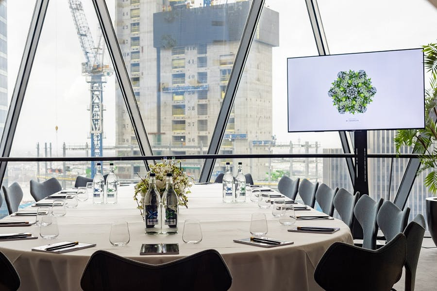 Photo of Nimbus Room at Searcys Gherkin