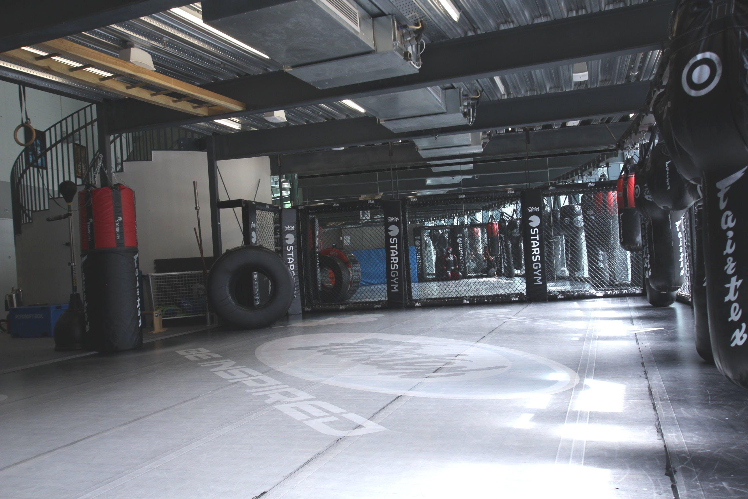Dojo area other stars gym