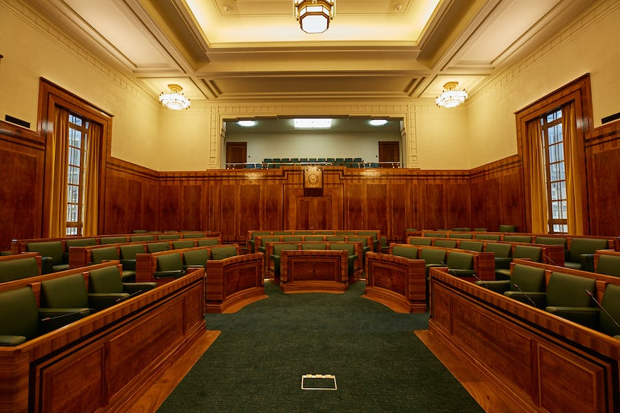 Photo of Council Chamber at Hackney Town Hall