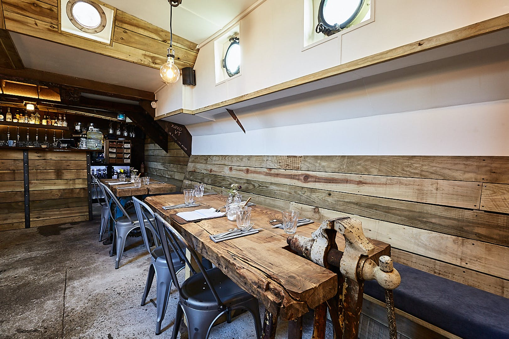 Interior Barge East