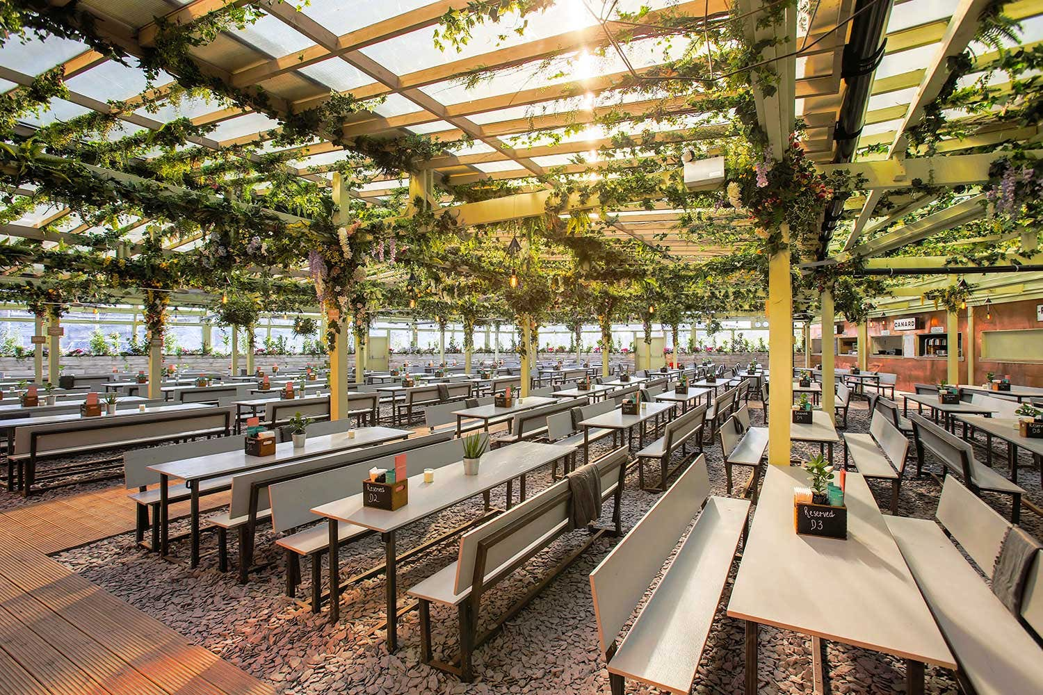 Pergola at Paddington Central, Hire Space