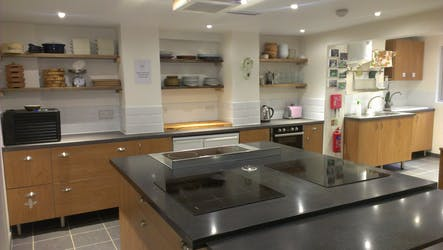 Hire Space - Venue hire The Kitchen at Made In Hackney Local Food Kitchen