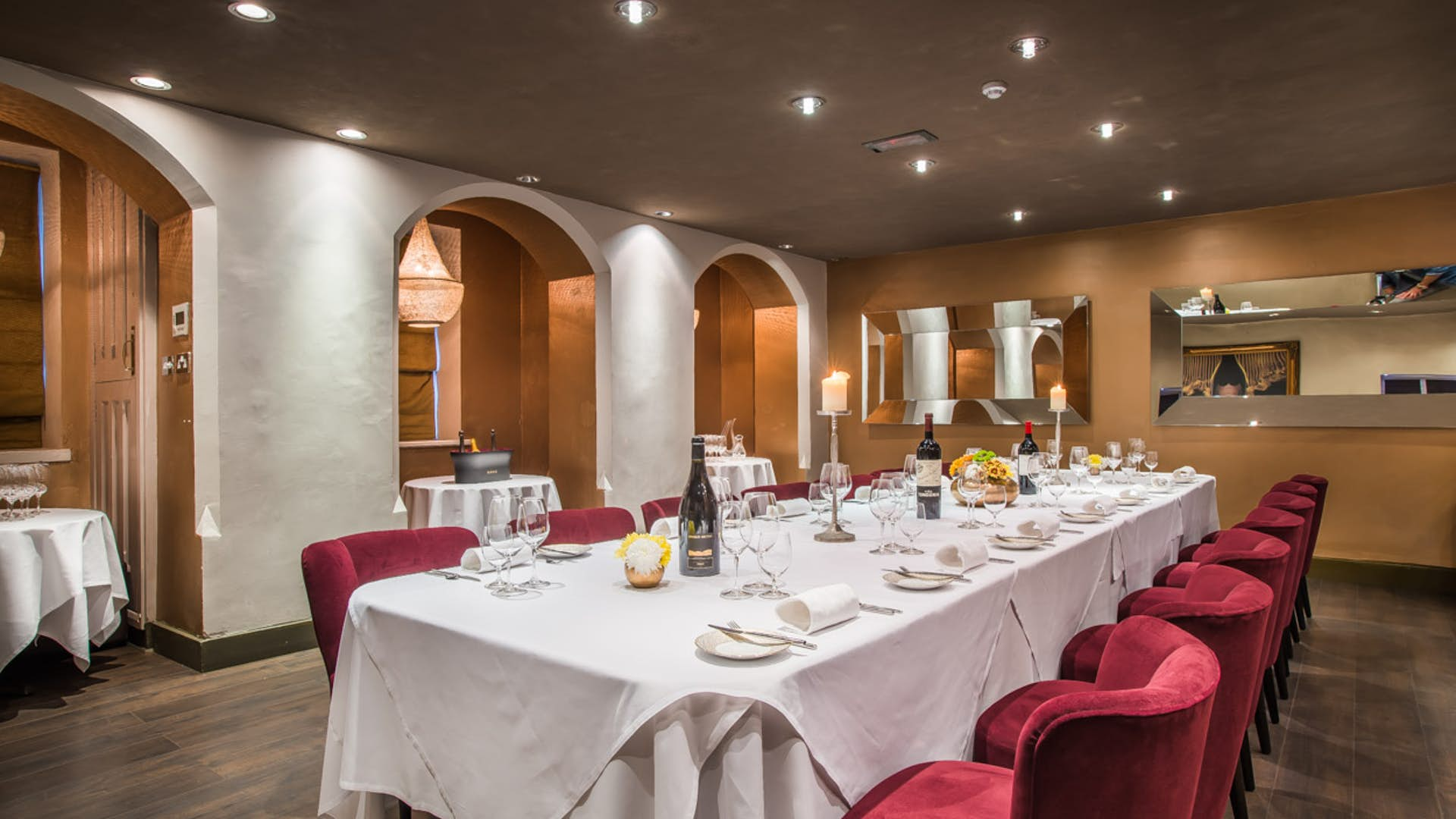 Main Street Auto >> La Cave - Private Dining Room | Business | Park House Restaurant & Dining Rooms