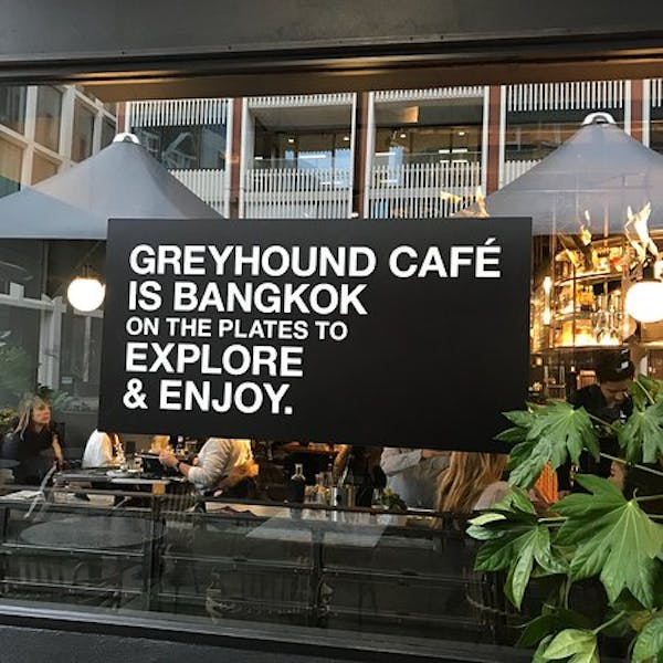 Photo of Main Restaurant at The Greyhound Cafe