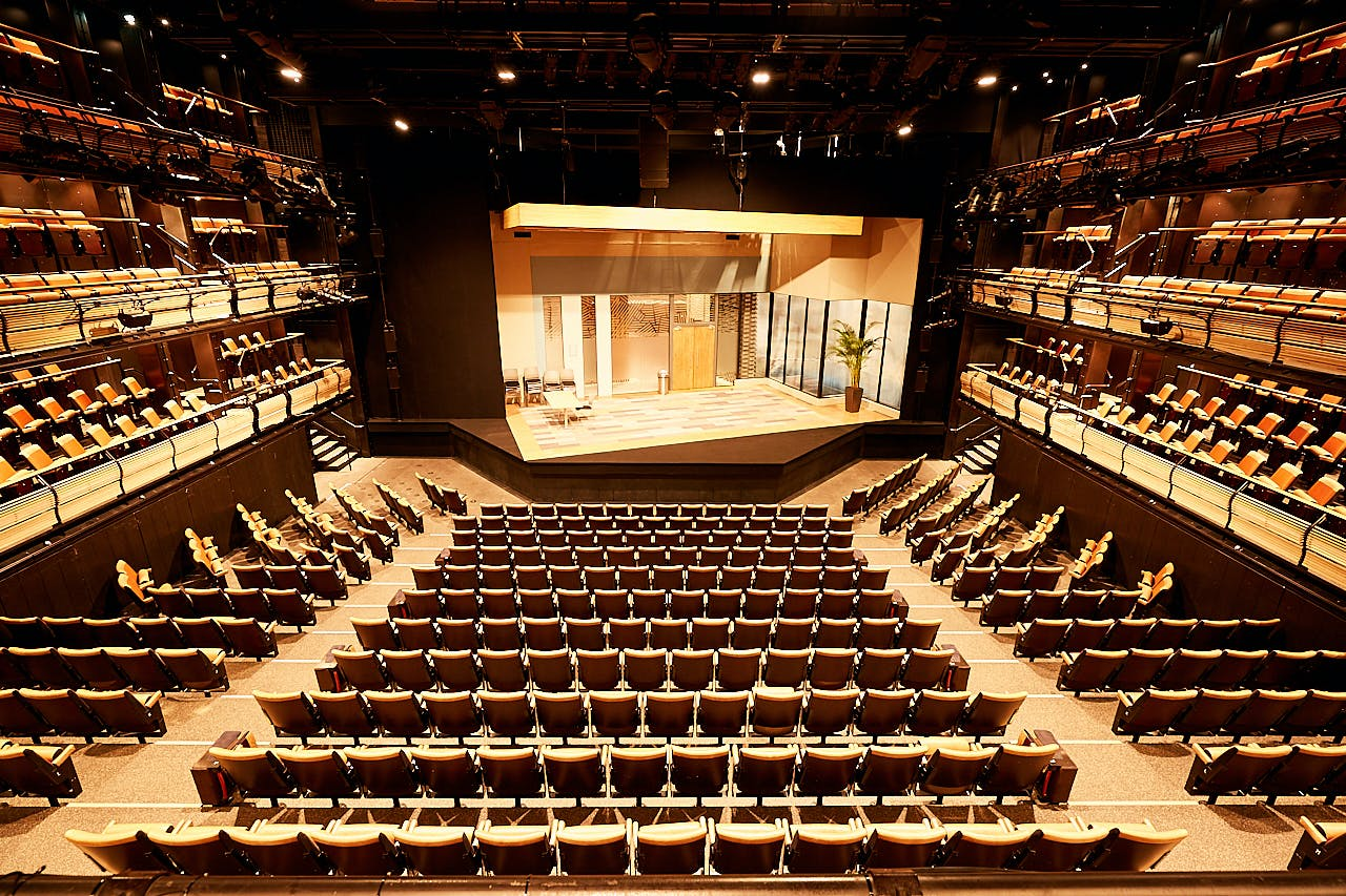 The Auditorium at the Bridge Theatre