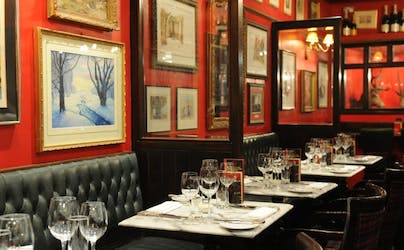 Hire Space - Venue hire Champagne and Oyster Bar at Boisdale of Bishopsgate