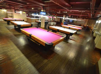 Hire Space - Venue hire Pool Hall Lounge at Namco Funscape
