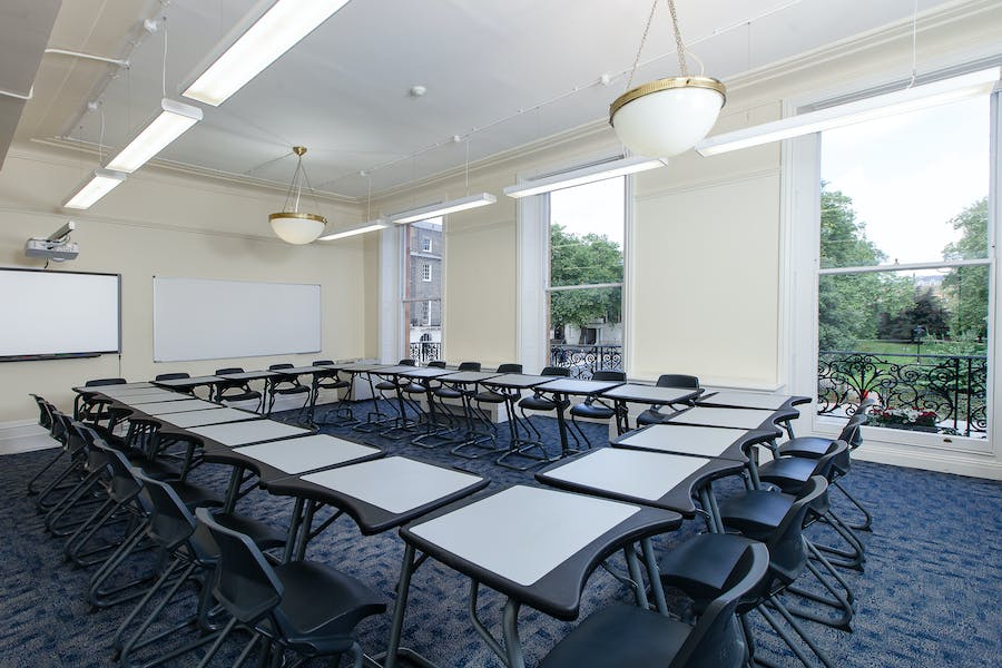 Photo of Bloomsbury room at Monticello House