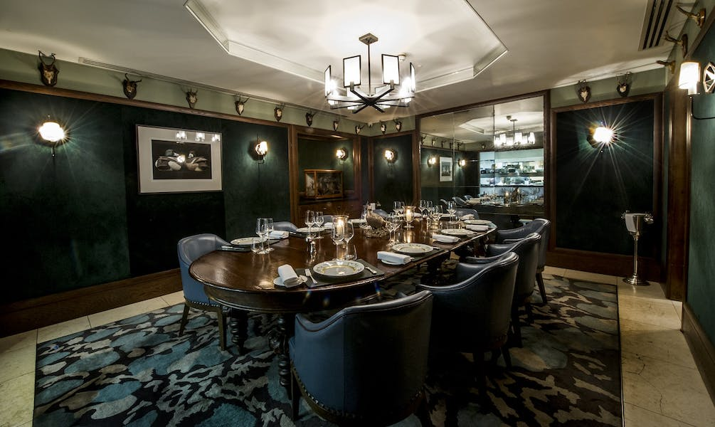 Photo of The Chef's Table at Corrigan's Mayfair