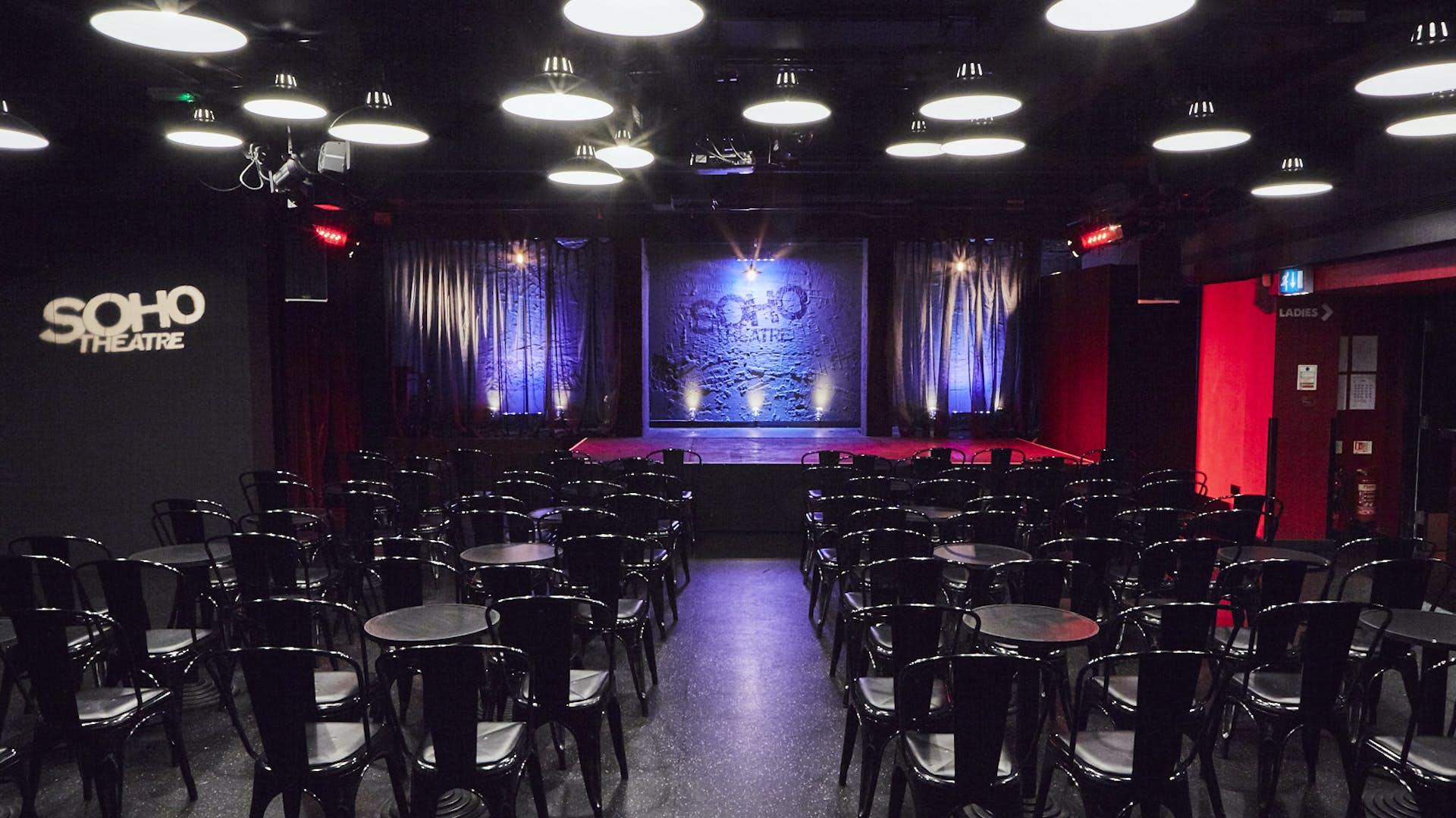 premium selection 832c8 3ec07 Hire Space - Venue hire Soho Downstairs at Soho Theatre ...