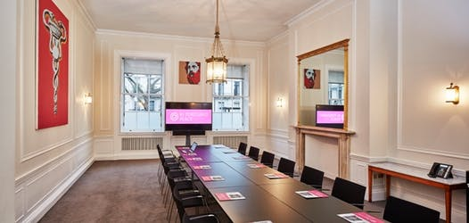 Hire Space - Venue hire Laurie Landeau & Fellows Room  at 41 Portland Place