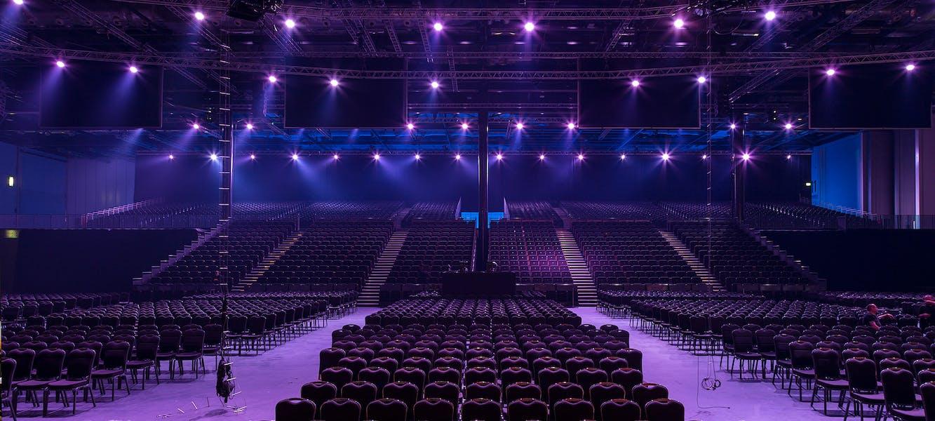Photo of ICC Auditorium at ExCeL London