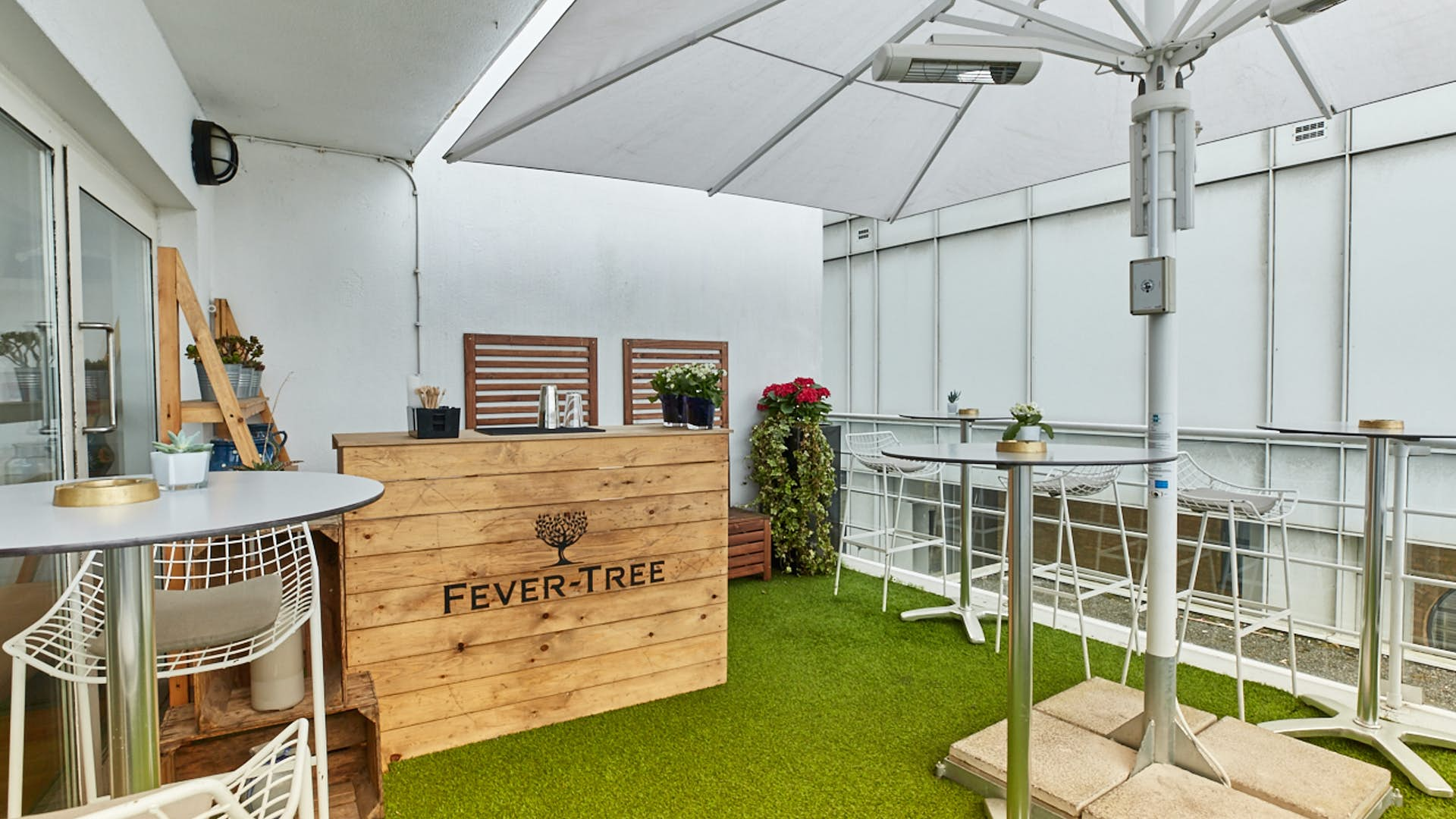 Summer terrace dining hire blueprint cafe hire space venue hire roof terrace at blueprint cafe malvernweather Image collections