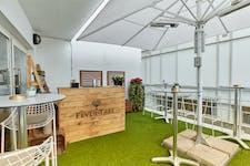 Hire Space - Venue hire Roof Terrace at Blueprint Cafe