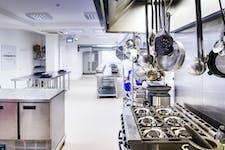 Photo of Kitchen 2 at Underground Cookery School