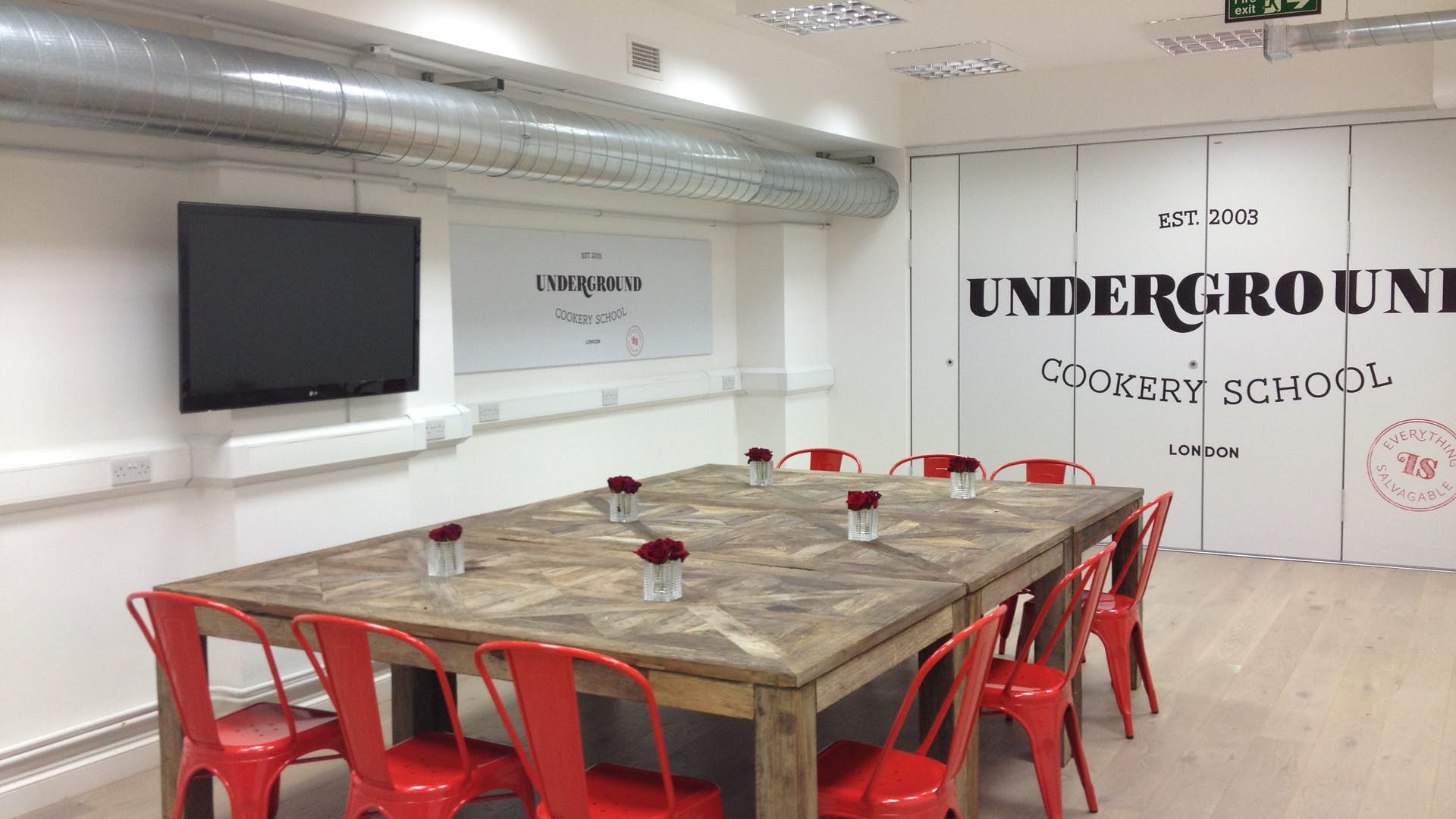 Whole Venue   Other Hire   Underground Cookery School