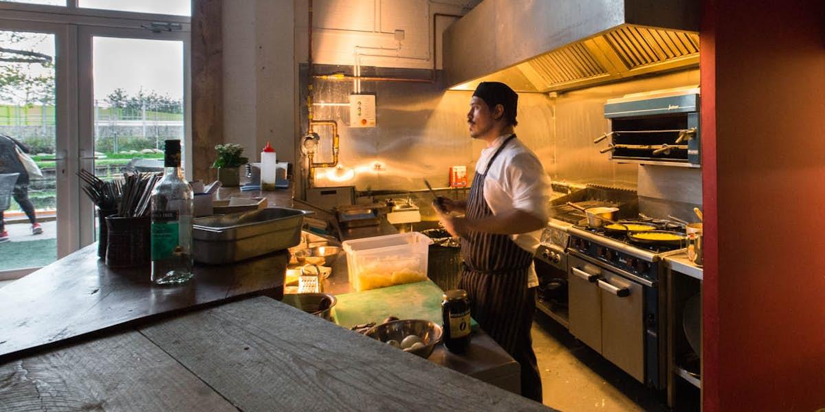 Hire Number 90 Bar Kitchen