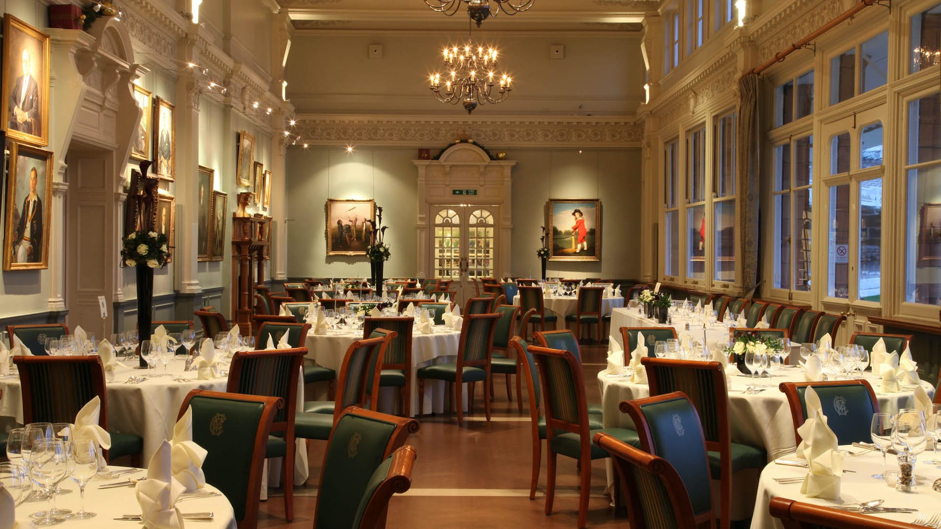 The long room dining hire lord 39 s cricket ground for Q dining room london