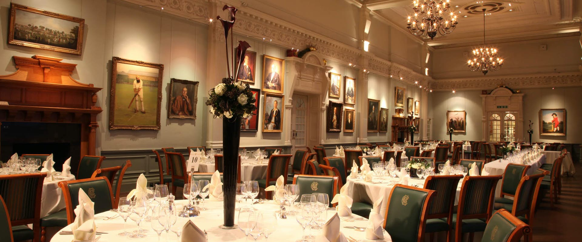 The Long Room at Lord's Cricket Ground