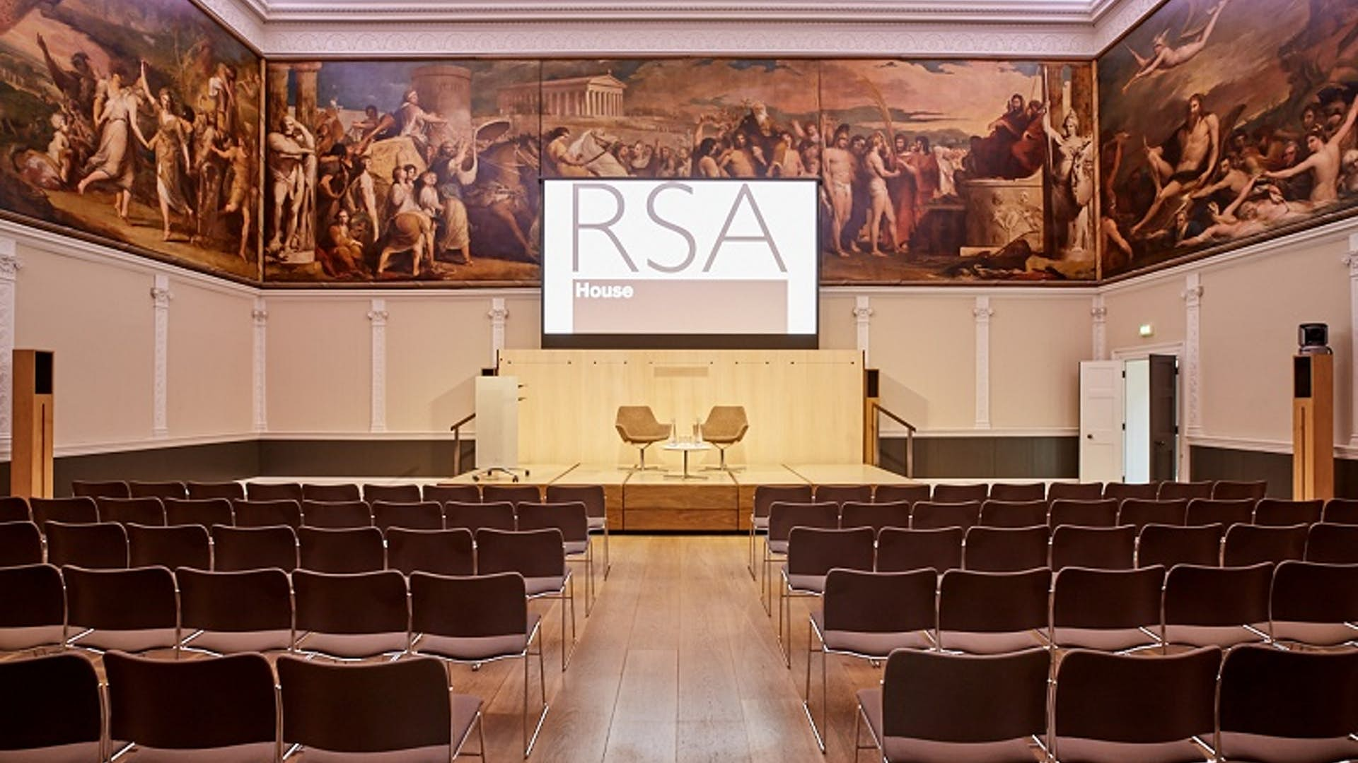 The Great Room at RSA House