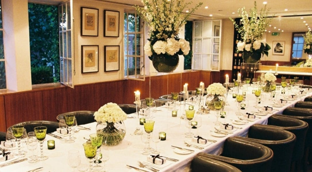 Photo of Beaufort Room at Bluebird Chelsea