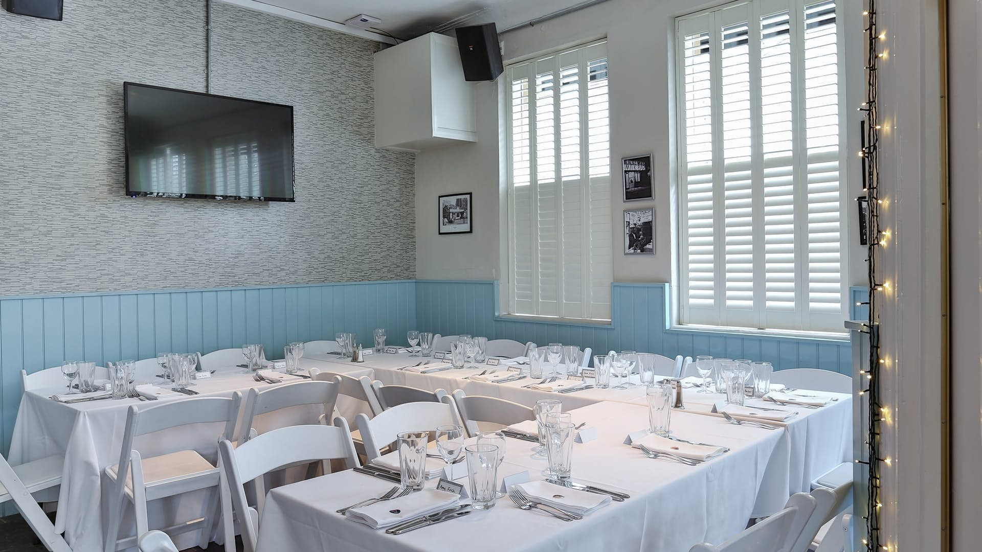 The Saloon | Weddings Hire | The Chapel Bar