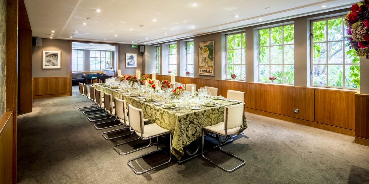 Hire bluebird chelsea for Best private dining rooms chelsea