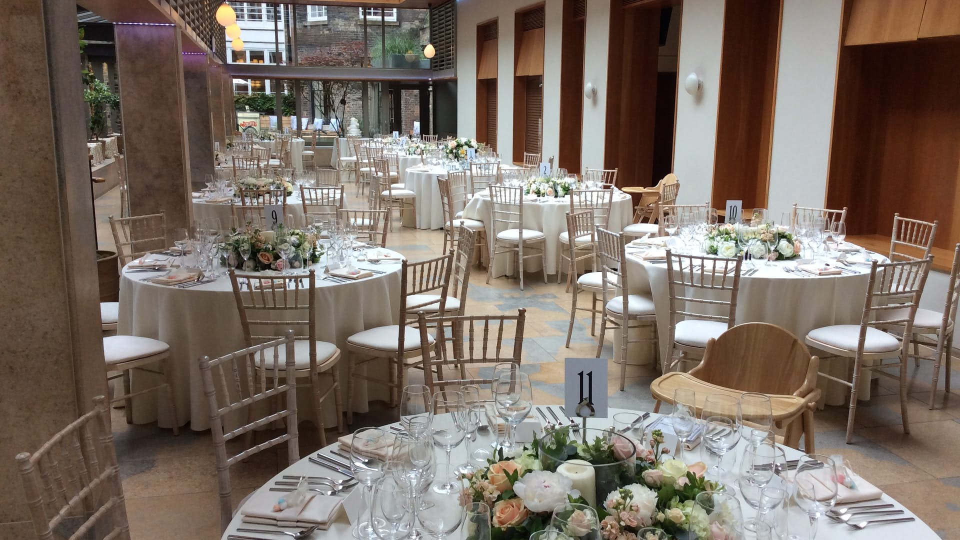 Orangery Weddings Hire No11 Cavendish Square
