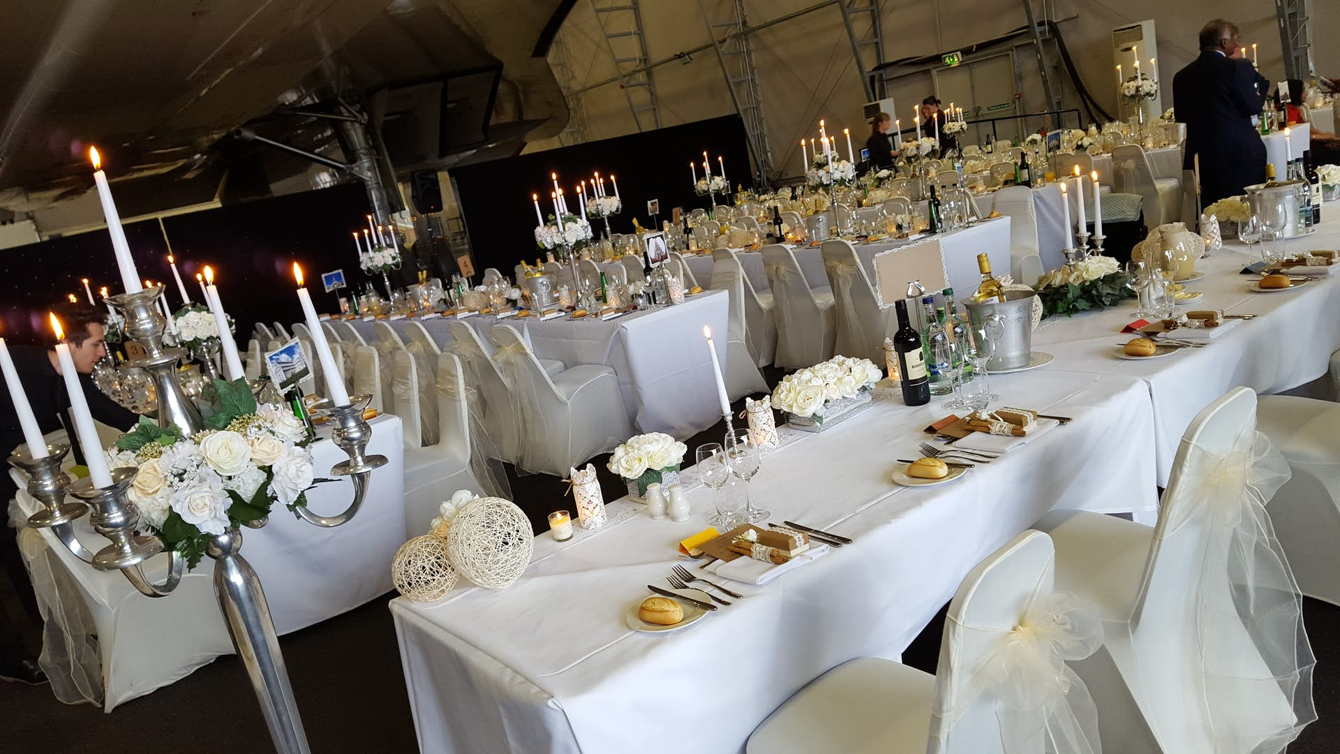 The Hangar | Weddings Hire | Concorde Conference Centre