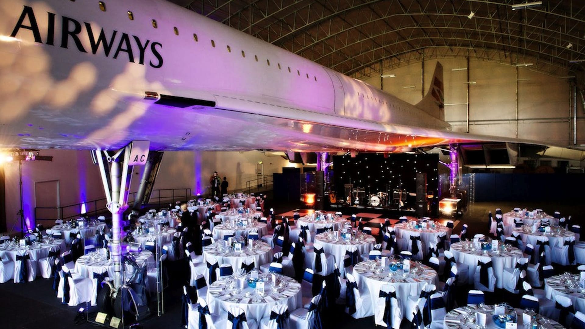 British Airways Wifi >> The Hangar | Events Hire | Concorde Conference Centre