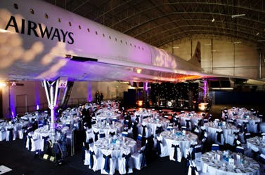 Hire Space - Venue hire The Hangar at Concorde Conference Centre