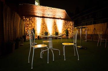Hire Space - Venue hire Roof Terrace  at Kent House Knightsbridge
