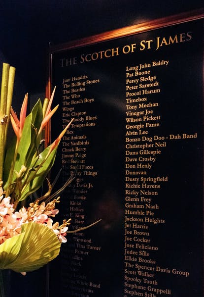 Photo of Whole Venue at The Scotch of St James