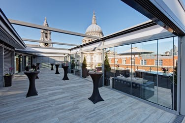 Hire Space - Venue hire Sky Bar at Grange St. Paul's Hotel