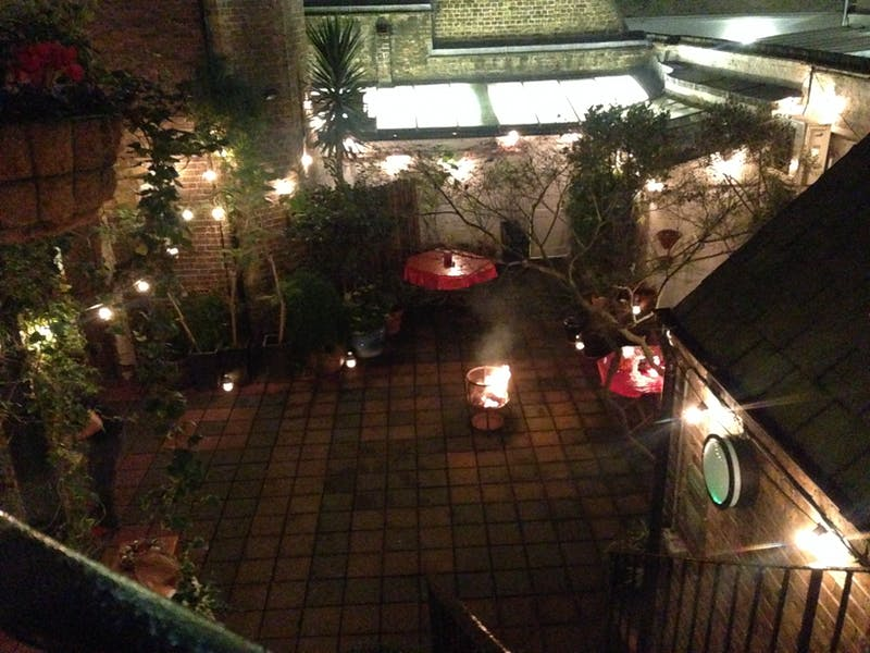 Photo of Gallery, Courtyard & Kitchen at October Gallery