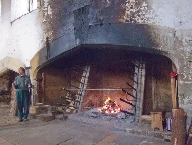 Photo of Tudor Kitchens at Hampton Court Palace