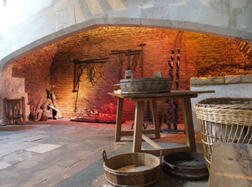 Photo of Tudor Kitchens at Hampton Court Palace