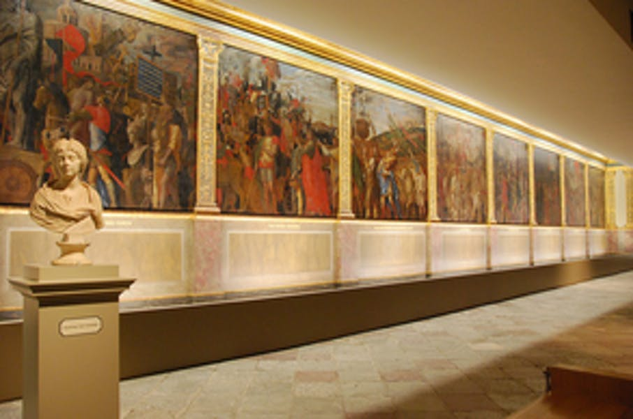 Photo of Mantegna Gallery at Hampton Court Palace